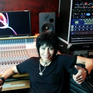 Joan Jett at Ocean Analog Recording Studios