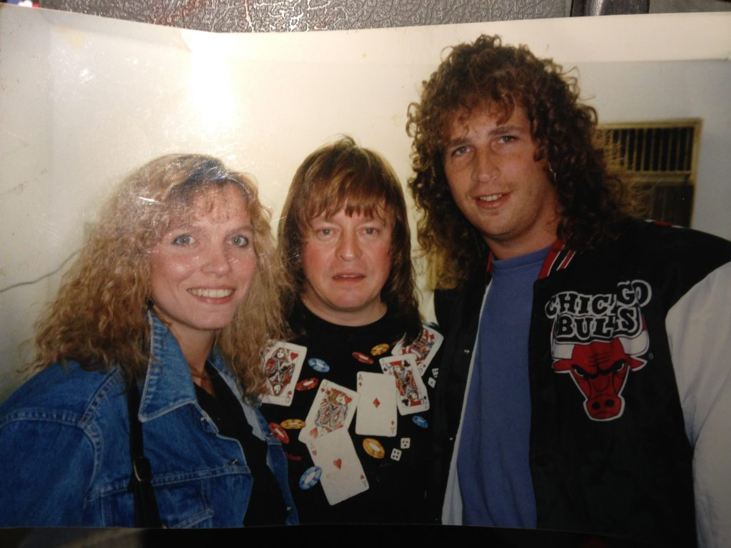 Hanging out with Rick Derringer