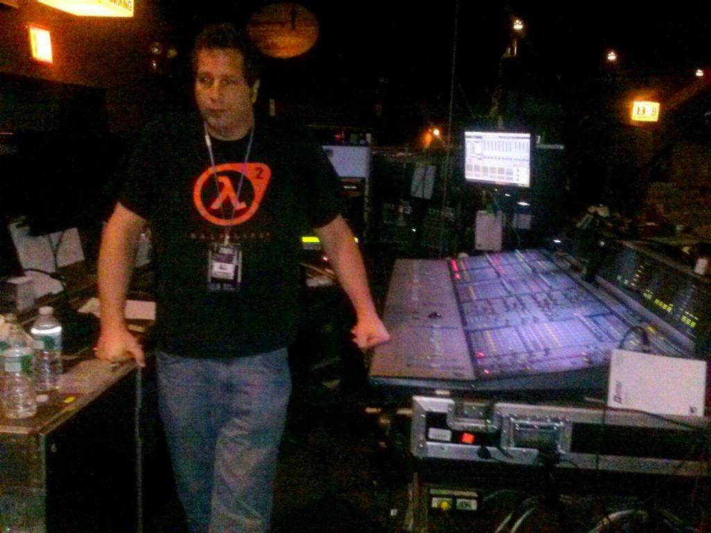 Doing Live sound for Zebra at Westbury Music Fair, NY