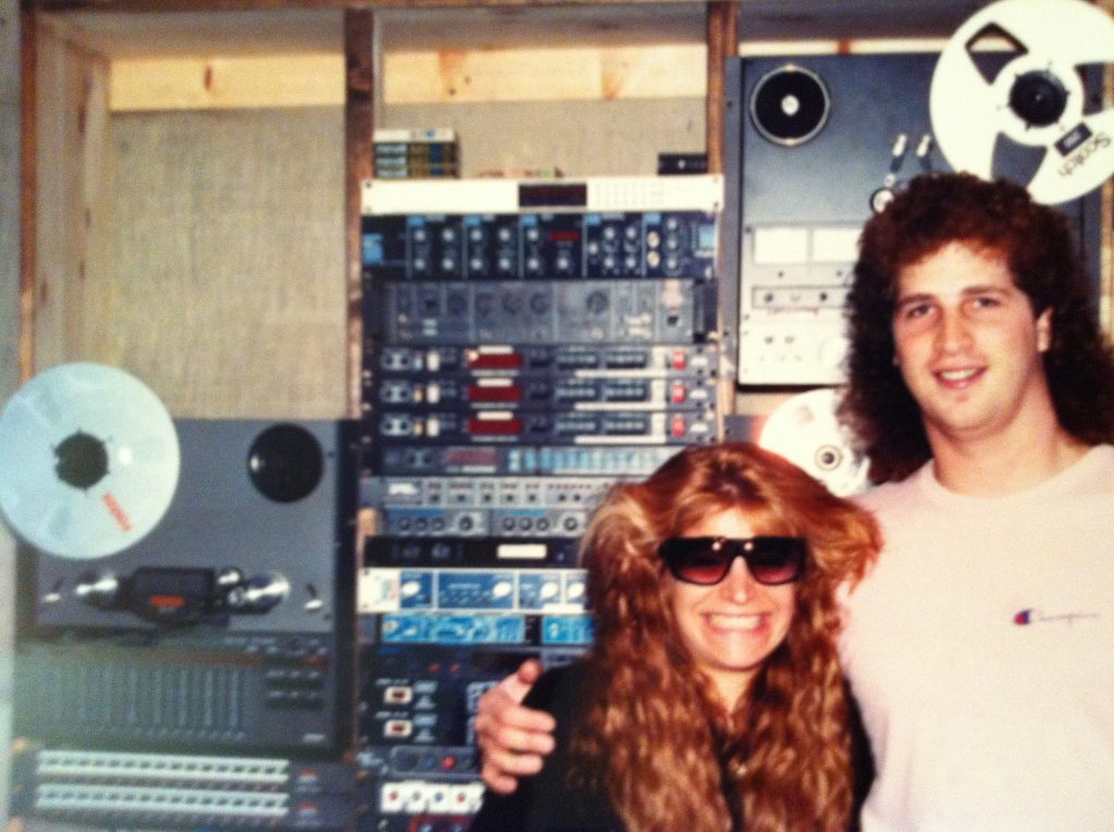 Taylor Dayne at the beginning of her career