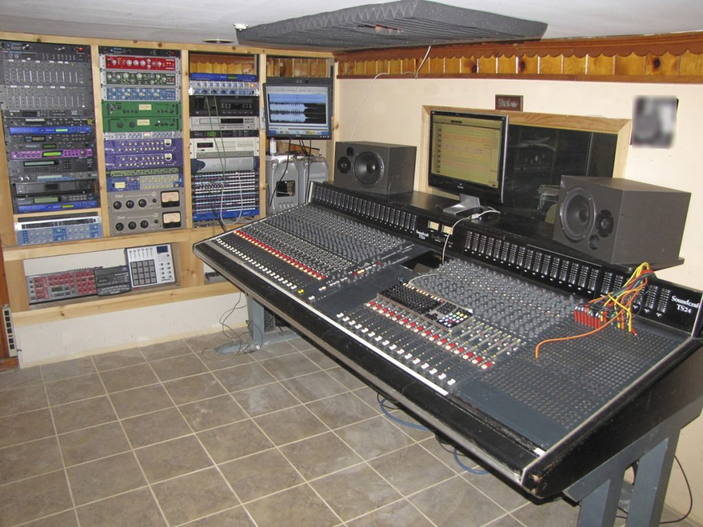 Vintage Soundcraft TS 24 which we rebuilt.