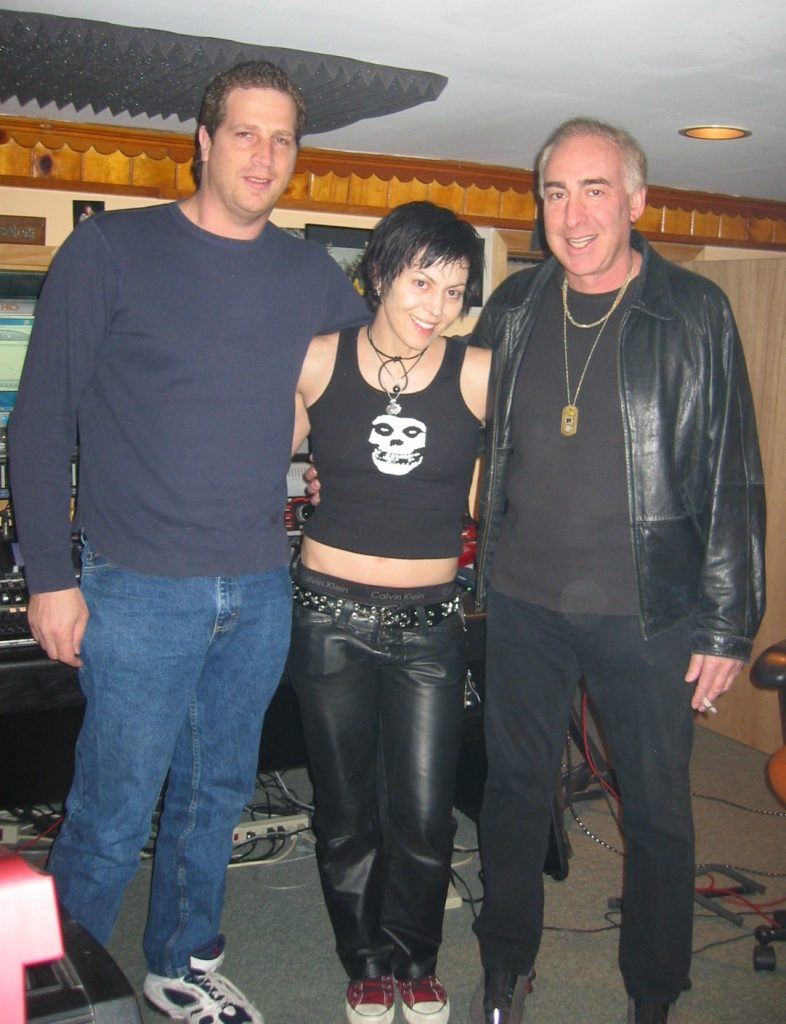 Great day with Joan Jett & Kenny Laguna