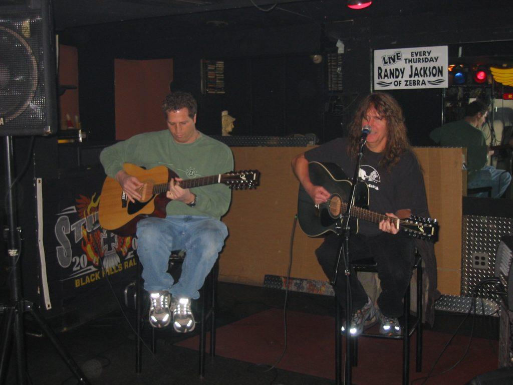 Little Jam with Randy Jackson of Zebra