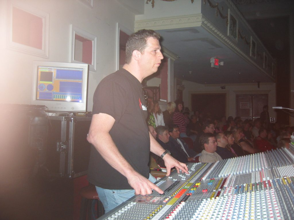 Doing live sound at a theater
